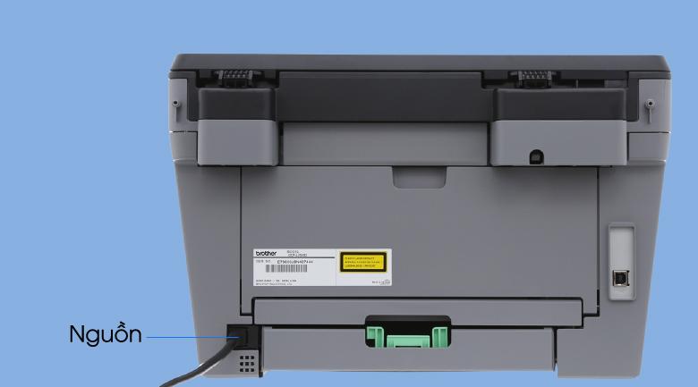 Máy In Laser Trắng Đen Brother đa năng In scan copy DCP-L2520D 6