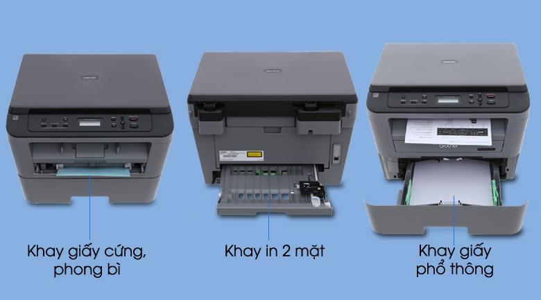 Máy In Laser Trắng Đen Brother đa năng In scan copy DCP-L2520D 7