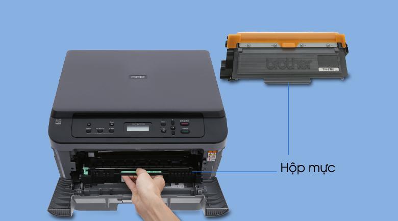 Máy In Laser Trắng Đen Brother đa năng In scan copy DCP-L2520D