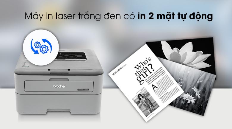 Máy In laser Trắng Đen Brother HL L2321D 2