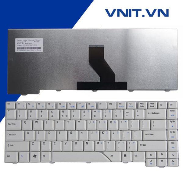 Bàn phím Acer Aspire 4310, 4510, 4710, 4320, 4520, 4720, 4920 Màu Trắng