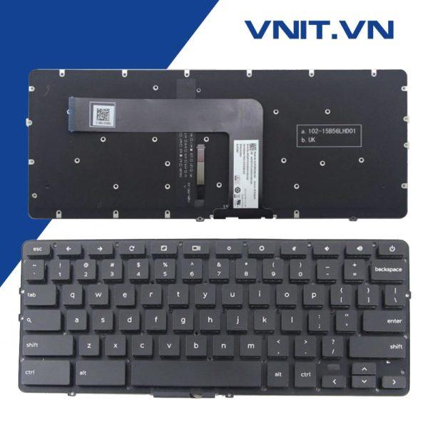 Bàn phím Dell Chromebook 7310 (Có Đèn)