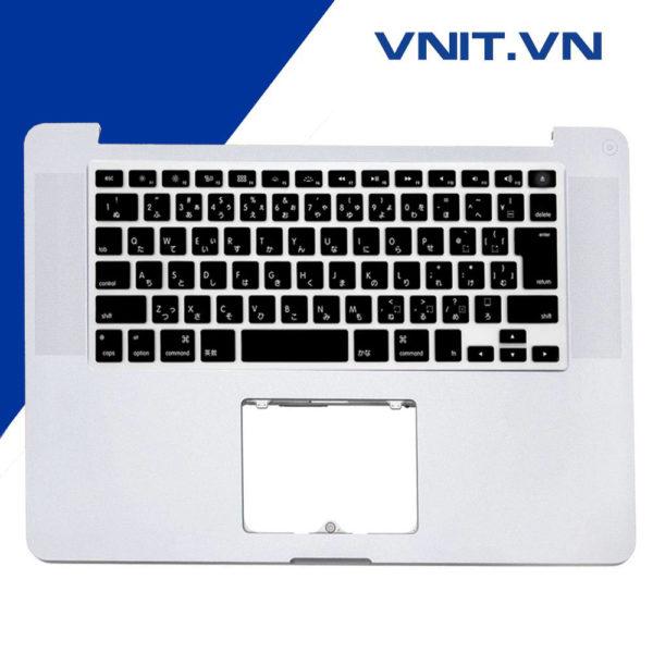 """Bàn phím Macbook Pro 15"""" A1286 (2009, 2010, 2011-2012) Nguyên Bệ (Chuẩn Japan)"""