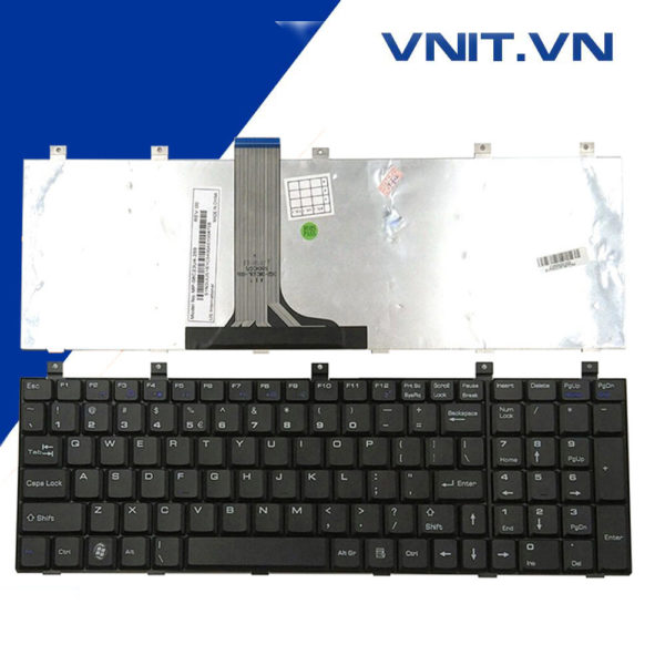 Bàn phím MSI A6000, ER710, EX620, EX610, EX623, EX700, ER710, GX740