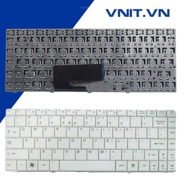 Bàn phím MSI CR400, X320, X340, X300, EX460, ULV723, U200, U340, X400 Màu Trắng