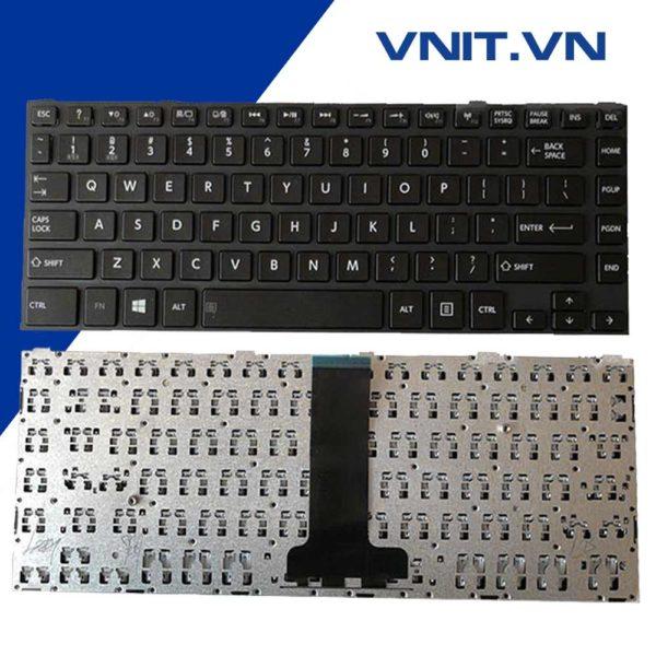 Bàn Phím Toshiba Satellite C40-B, C40D-B, C40-C, B201E, B206E - Keyboard Toshiba Satellite C40-B, C40D-B, C40-C, B201E, B206E