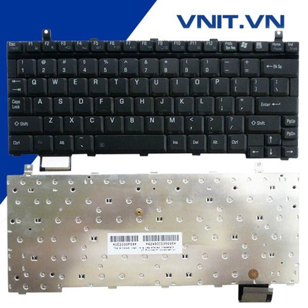 Bàn Phím Toshiba Satellite U200 U205, Portege M200, M400, R100 - Keyboard Toshiba Satellite U200 U205, Portege M200, M400, R100